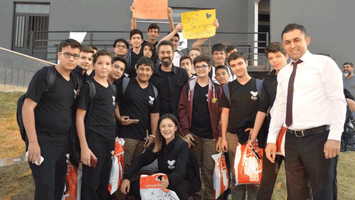 Denizli Bitek Koleji Öğrencileri Turgay Başyayla'yı Ağırladı