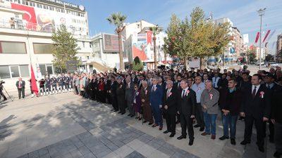 Belediye Teşkilatının 142. yıldönümü törenle kutlandı