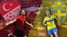 Türkiye-İsveç Maçı ÖZET