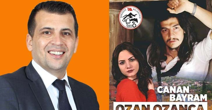 BAŞKAN ALİ ATLI'DAN KONSERE DAVET