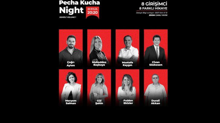 Pecha Kucha Night Volume-1 Denizli 20 Eylül Saat: 20.20'de Başlıyor!