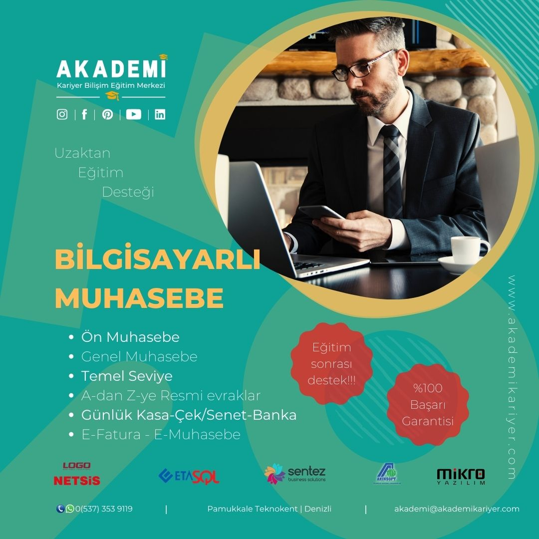 Akademi Kariyer Online Bilgisayar Kursu
